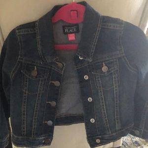 Toddler Jean Coat